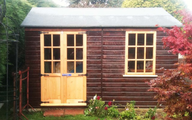 New Doors and Windows for Outbuilding.