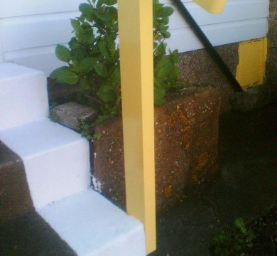 Outdoor Staircase Repair