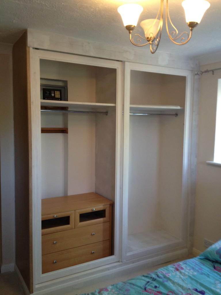 Wardrobe With Sliding Mirror Doors Mj Carpentry Amp Joinery