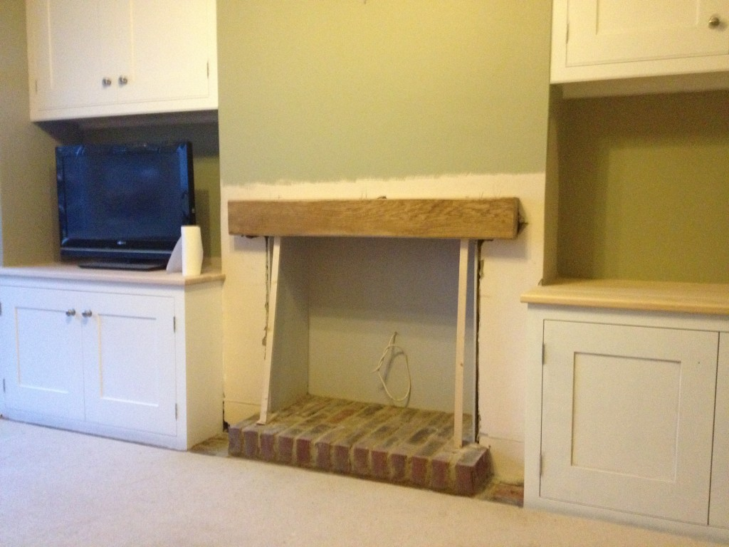 Built In Alcove Units Amp Fireplace Beam Mj Carpentry
