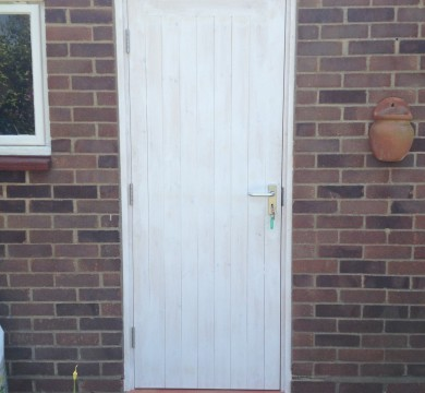 New Door Frame & Door