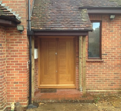 Porch Refurb in Rowlands Castle