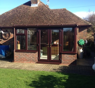Conservatory in Hunston Part 2