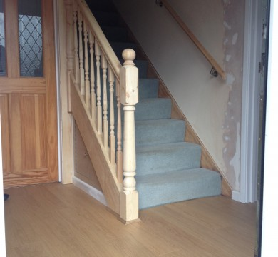 Small Stair Refurb in Bognor Regis